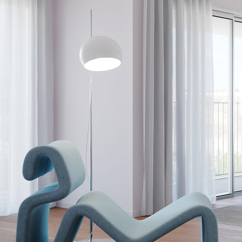 Empreendimento Panorama Altear | sala decor