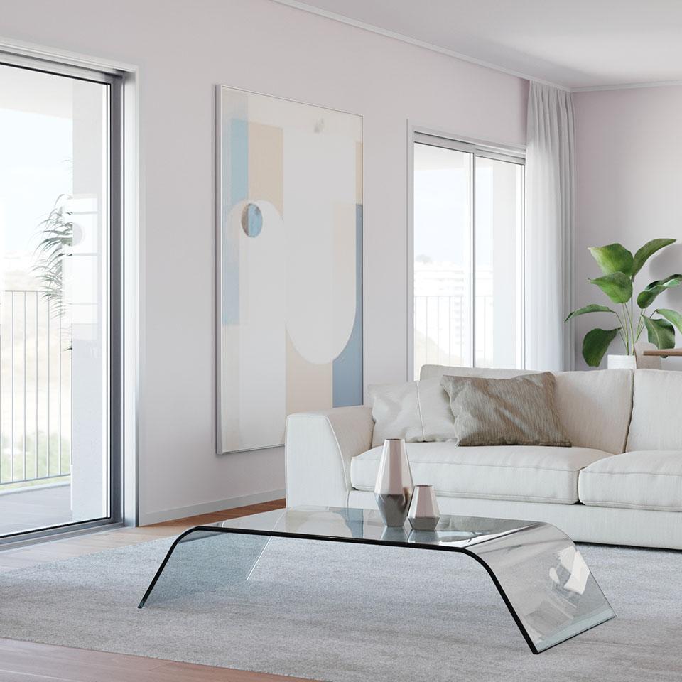 Empreendimento Panorama Altear | sala