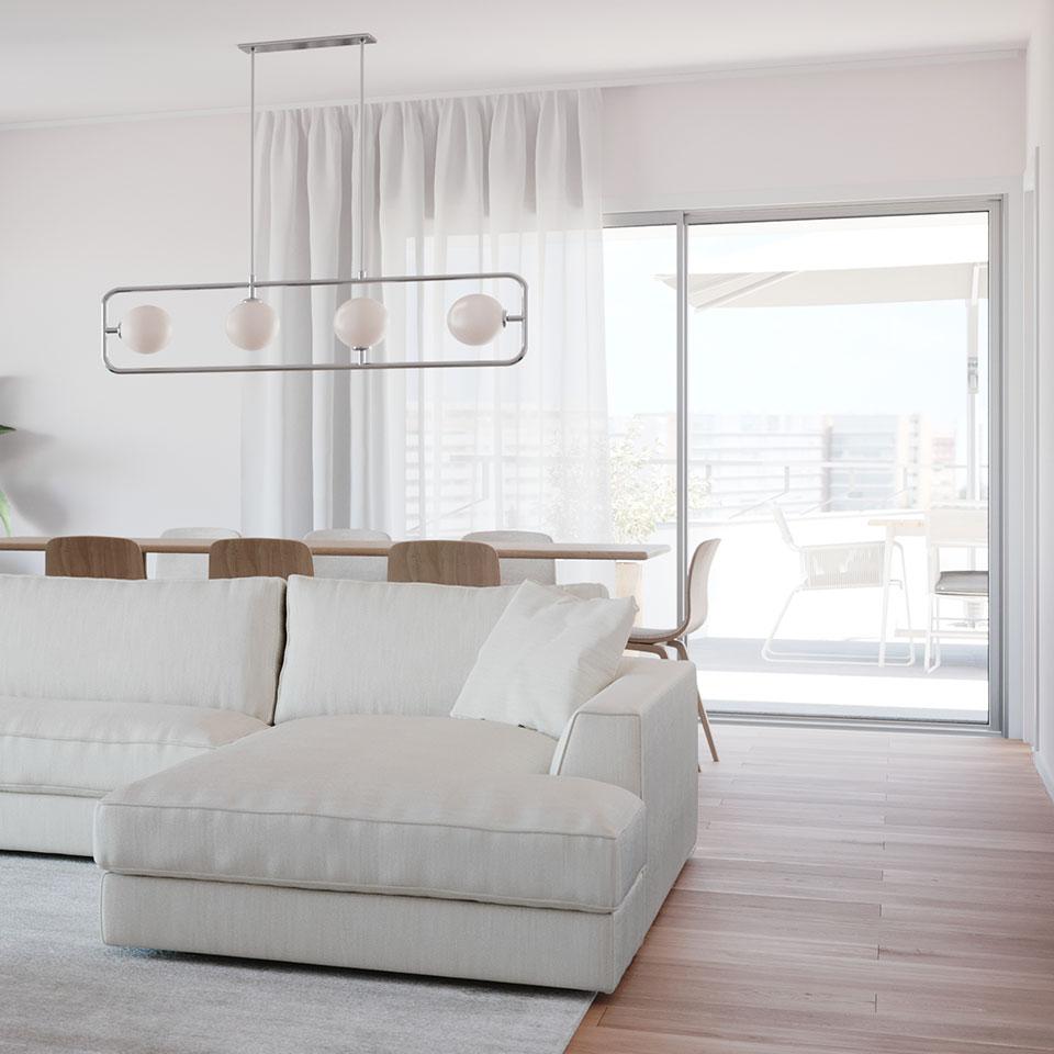 Empreendimento Panorama Altear | sala sofa