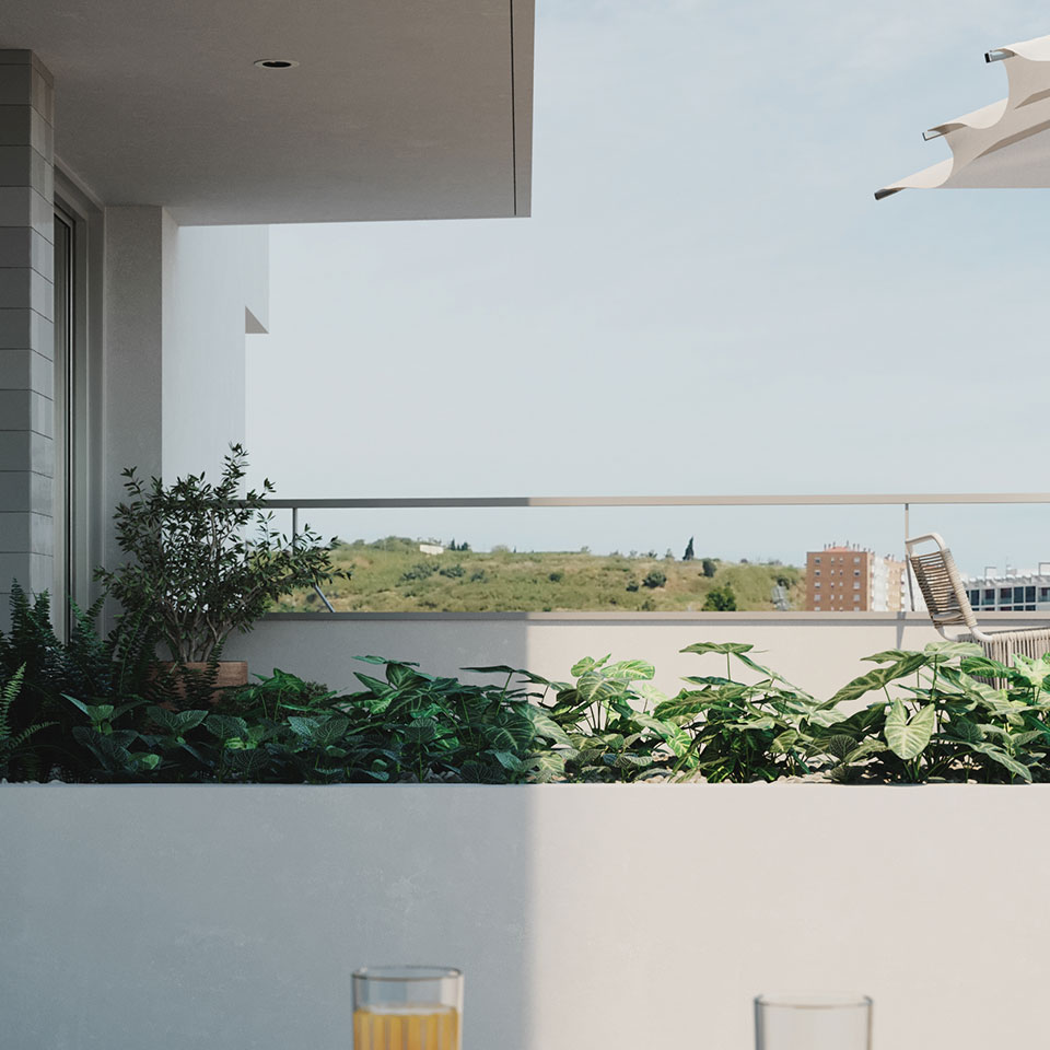 Empreendimento Panorama Altear | varanda